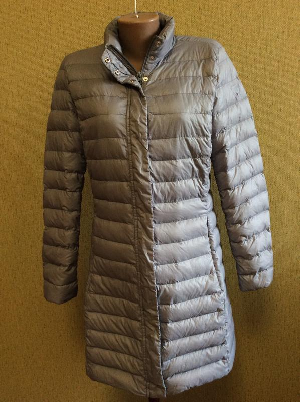 fbe414eb616c Куртка пуховик tommy hilfiger оригинал размер l (Tommy Hilfiger) за 1250  грн. | Шафа