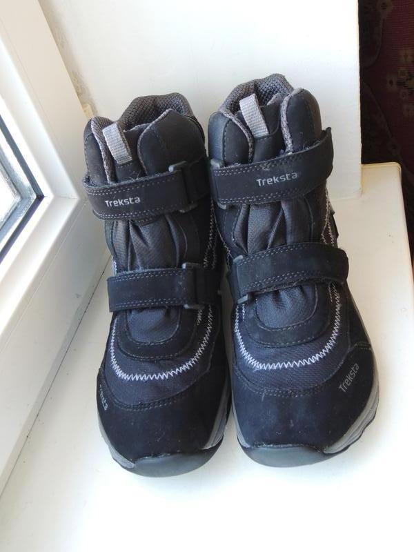 Зимние фирменные мембранные ботинки сапоги treksta gore-tex р.351 ... 332612e75895f