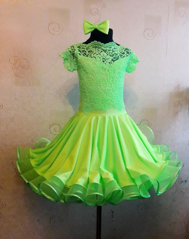 03f7c18ef579c08 Рейтинговое платье для бальных танцев бейсик, цена - 2500 грн ...