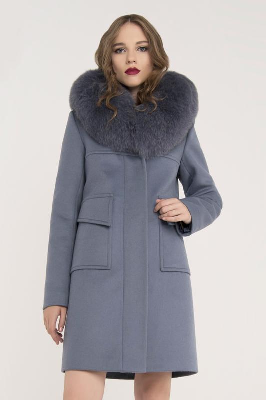 Женское зимнее пальто с мехом 20191 ... 9f8b8e5b8be24