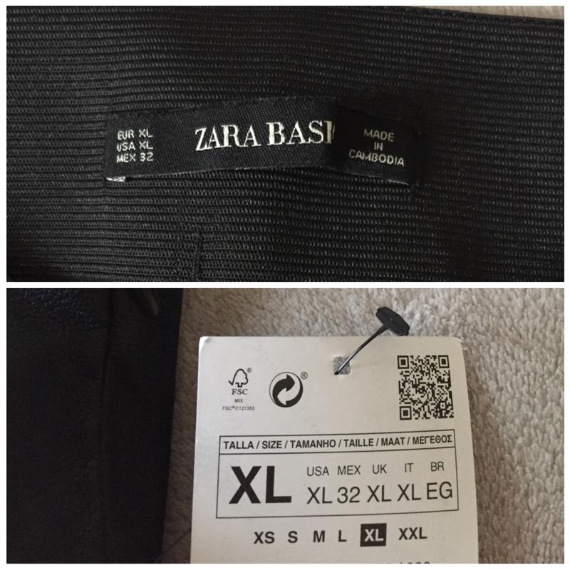 9304ac0cc83e Zara кожаные лосины под кожу леггинсы штаны кожаные брюки под кожу  байкерские штаны ...