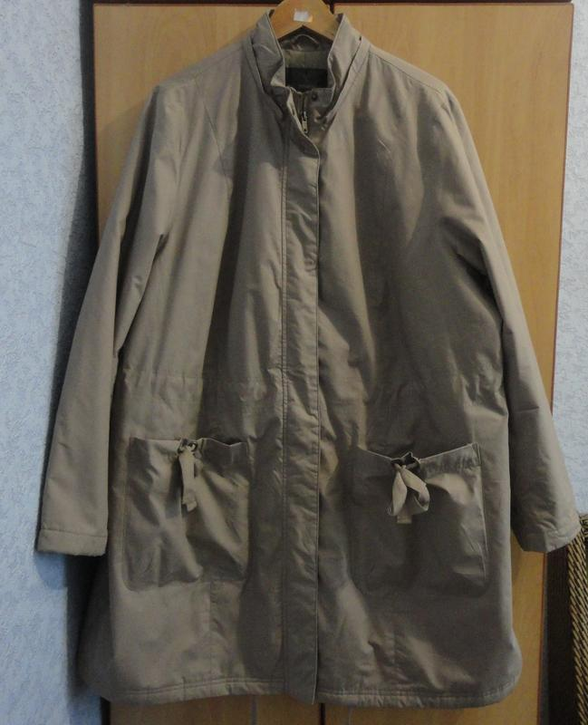 Супер брендовое женское пальто парка куртка хлопок Bpc Selection ... 51ed9dac3c2f9
