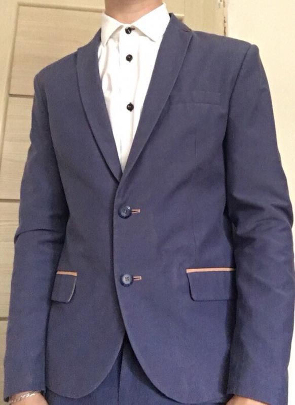 5acb65262b37 Мужской костюм ( пиджак + штаны ) vels, цена - 500 грн,  17694917 ...