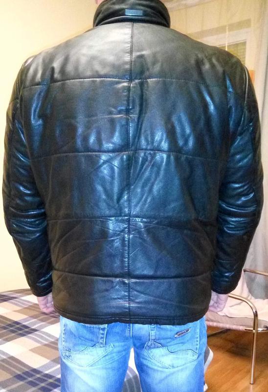 Зимова шкіряна куртка Bugatti 95e111d822fac