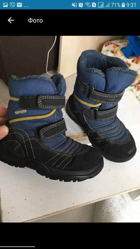 Термо сапоги зимние ботинки чико chicco tex р.26 Chicco e876a4327ada5