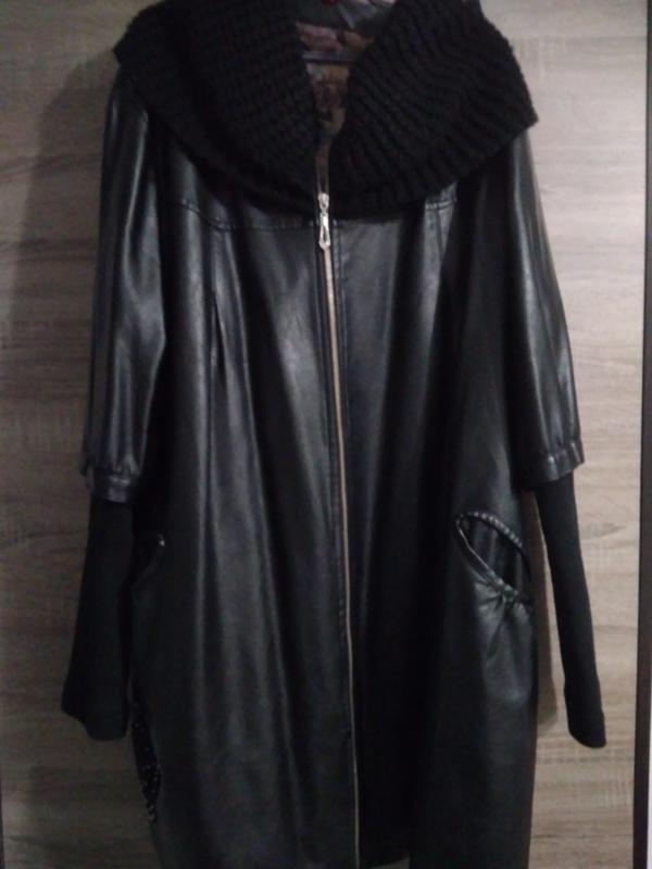 Супер куртка з шкір.замінника. 58-60 розмір1 ... 51885ce0807f3