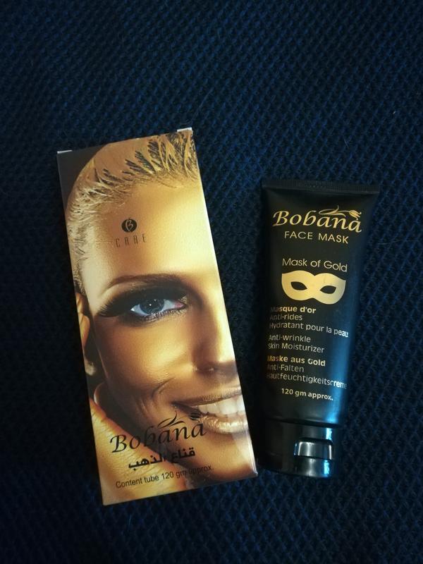 Bobana золотая маска для лица египет цена 350 грн 17771546