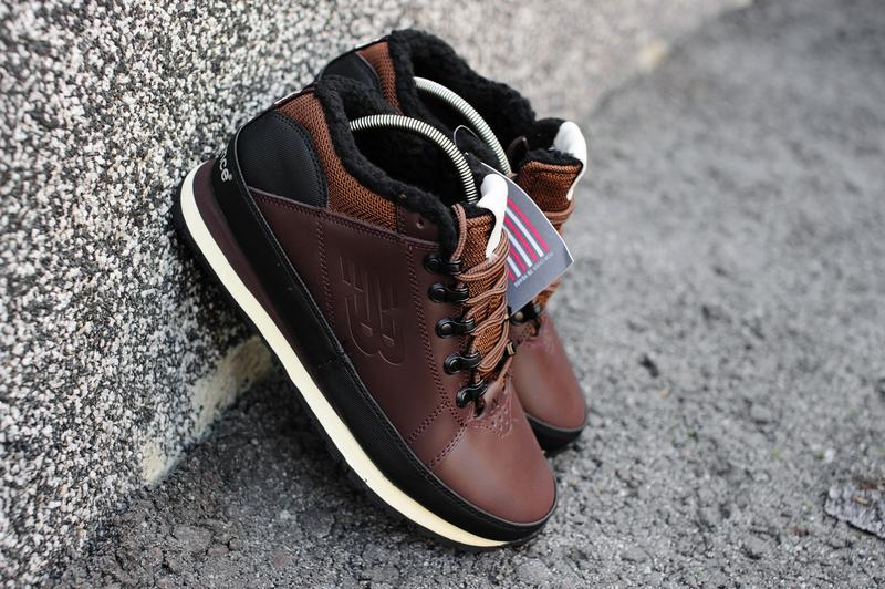 Отличные мужские зимние ботинки  кроссовки new balance 754 winter black с  мехом!1 ... ba762b8d44b