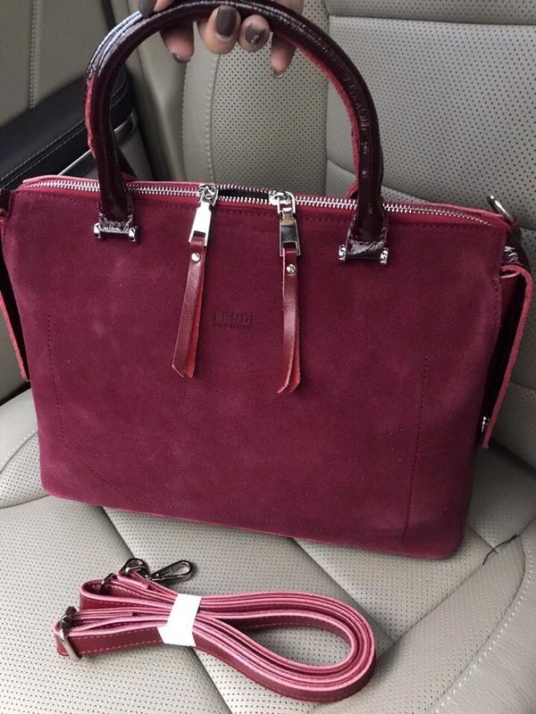 8ce9bf53de57 Бордовая кожаная сумка, цена - 1500 грн, #17783098, купить по ...