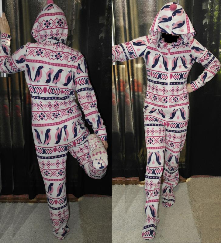 New look пингвины слип кигуруми пижама домашний костюм комбинезон  человечек1 ... 1e785fcdd77f3