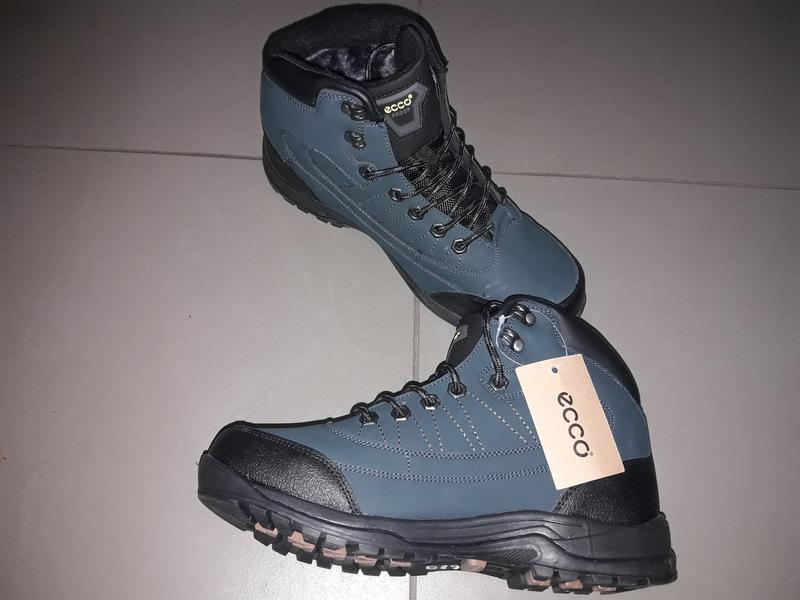 d7137fc4bf8c Ecco ботинки 41-46 мужские зима зимние мех нат кожа термо мембрана высокие  кроссовки1 ...