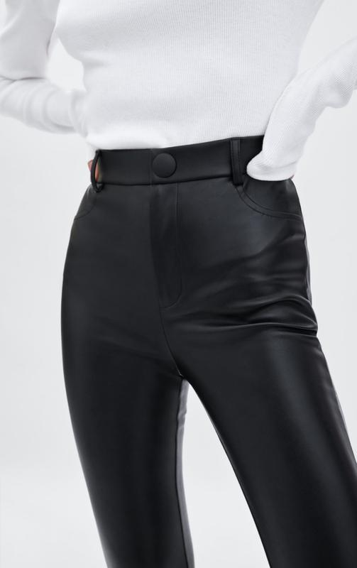 c022026c2cff4 Легинсы штаны брюки из искусственной кожи zara, размер xs, s, m, l ...
