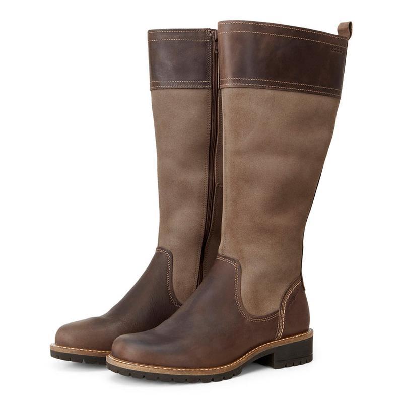 Водонепроникні шкіряні чоботи ecco 48f992eb2518d