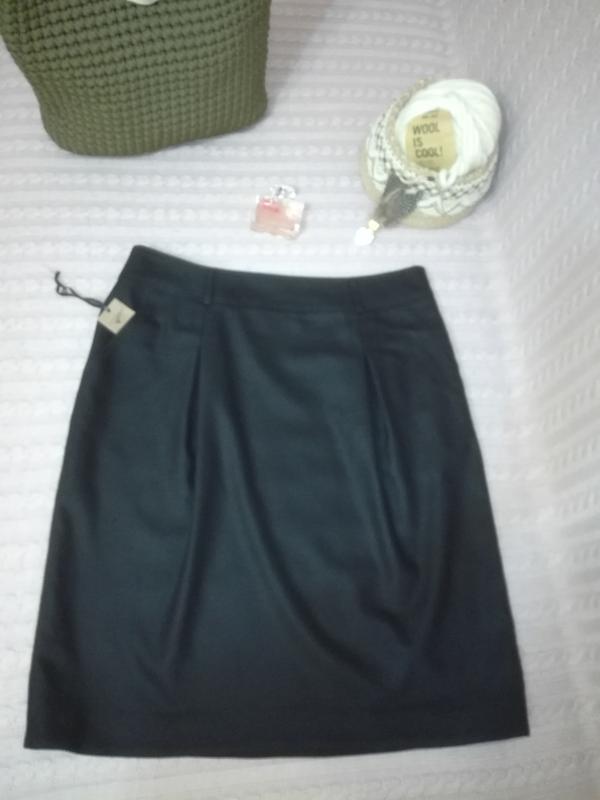 239940bc2022 Шерстяная (шерсть с ангорой и кашгорой) юбка vip люкс премиум класса  burberry, р ...