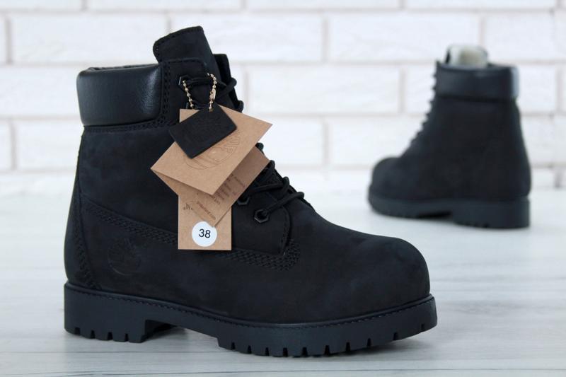 Шикарные зимние ботинки timberland с мехом унисекс (мужские  женские)1 ... 644c957476f