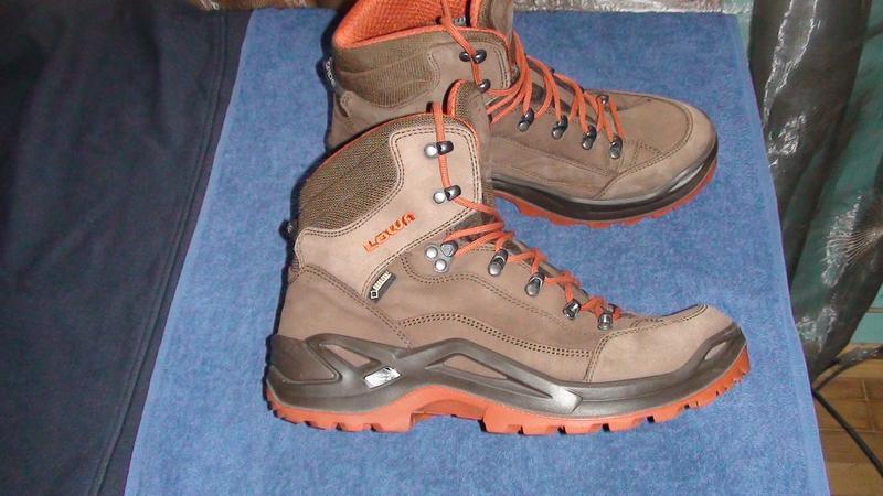 Lowa renegade gtx mid - шкіряні трекінгові черевики. р- 41.5 (26.6см) ... a6b0286675e70