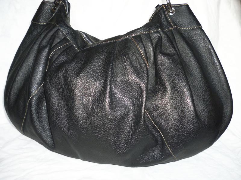 Шикарная большая сумка в стиле хобо натуральная кожа, цена - 650 грн ... 9908f8658f0
