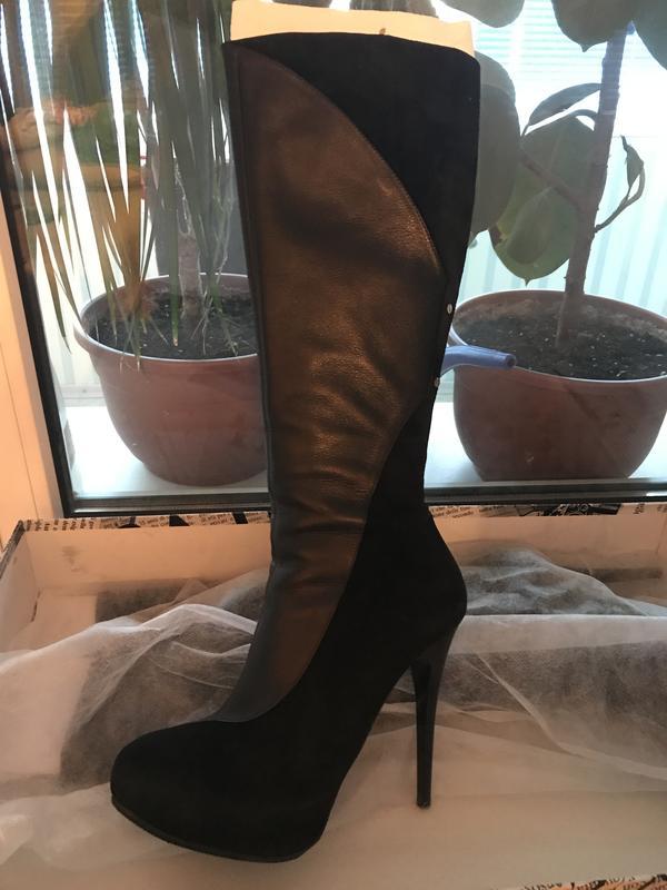 538a3baf83136c Сапоги кожаные демисезонные Luciano Carvari, цена - 1500 грн ...