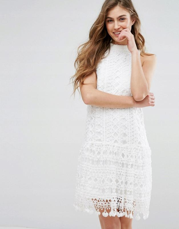 Missguided романтична міні-ажурна сукня Missguided 68c7a5eab4242