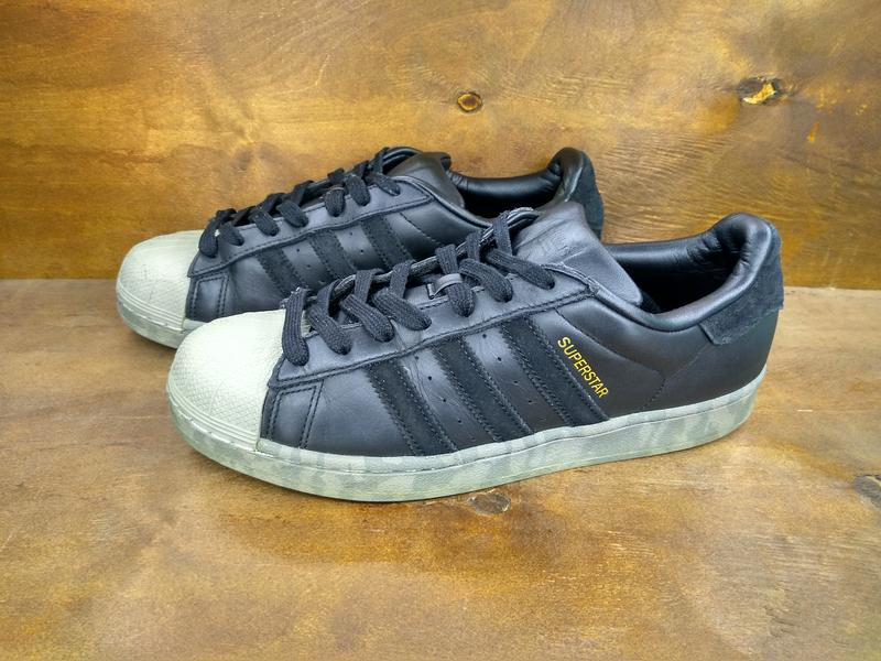 meet 04d03 54d79 Кожаные кроссовки adidas superstar ( 41 размер ) (Adidas) за 750 грн.   Шафа