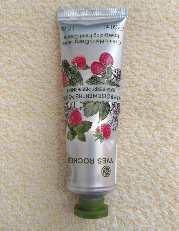 Крем для рук малина – мята с тонизирующим ароматом Yves Rocher 85062e1ec503f
