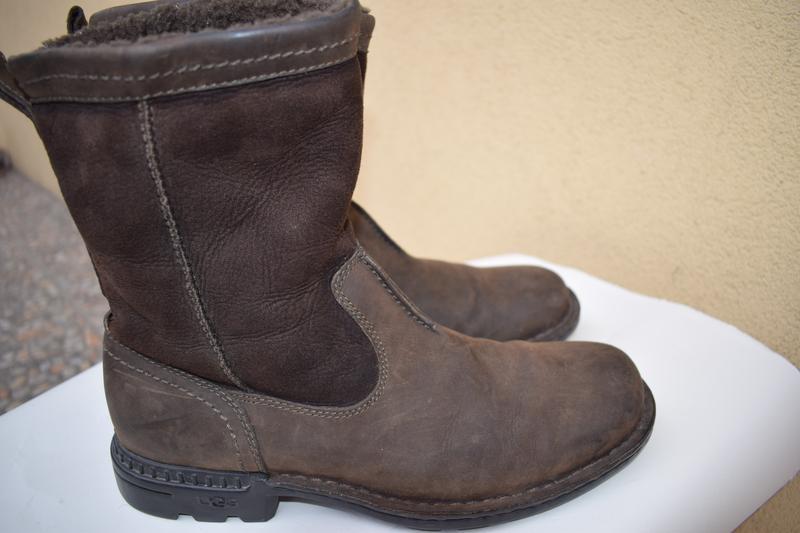 9ddf5c77e972 Замшевые +кожа на овчине сапоги ботинки угги уги ugg р.42 27-27,5 см ...