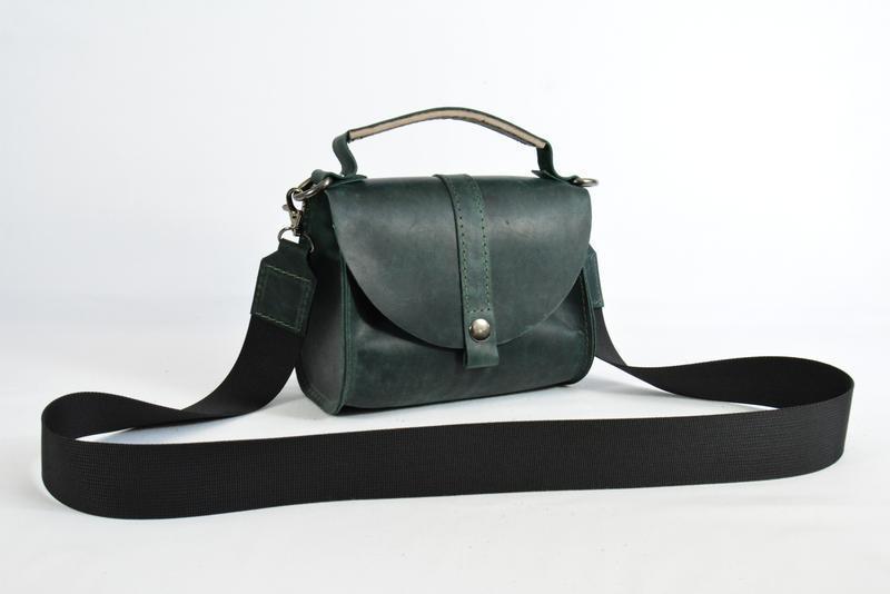 e9b5904ca7a9 Кожа. ручная работа. кожаная зеленая женская сумка, сумочка. кожаный клатч1  фото ...