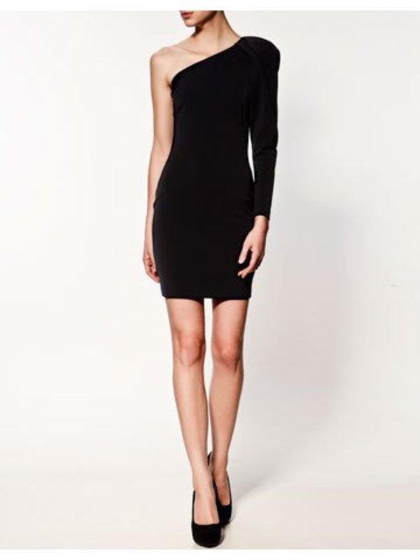 Платье черное stradivarius