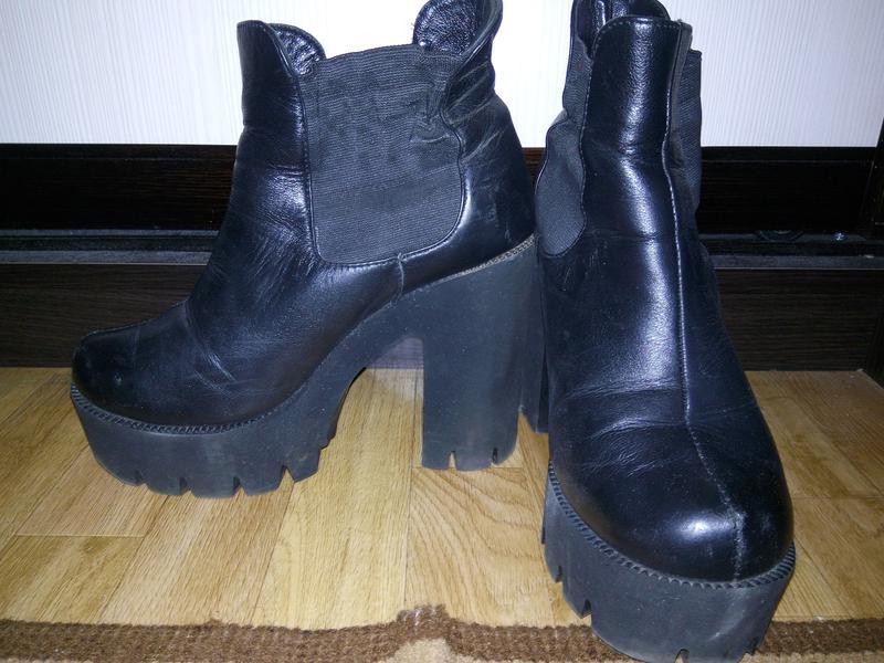 4fa3f6097 Ботинки на тракторной подошве, цена - 200 грн, #17897077, купить по ...