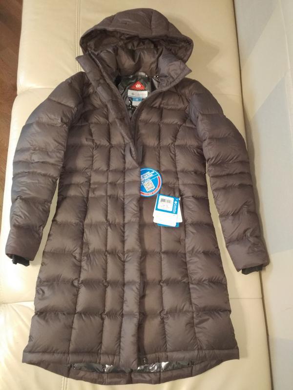17d9b48c6def Новый зимний пуховик columbia hexbreaker long пуховая куртка женский xs-s1  ...