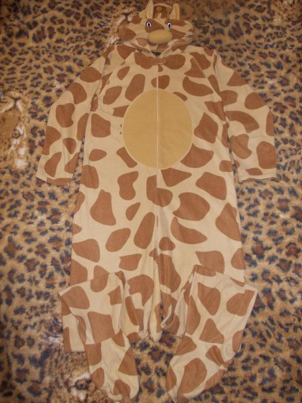 Пижама слип кигуруми комбинезон жираф р. l Cedarwood State b56c2511acff1
