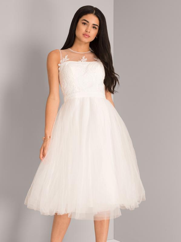 9f4bb1a737f46b4 Новое свадебное платье chi chi london (marshmallow) ASOS, цена ...