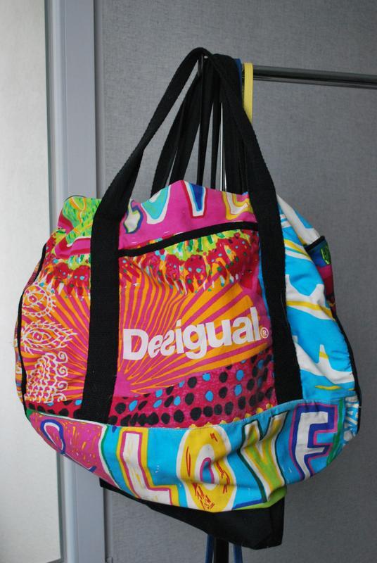 Большая пляжная сумка desigual оригинал Desigual, цена - 250 грн ... cf7679fe4d3