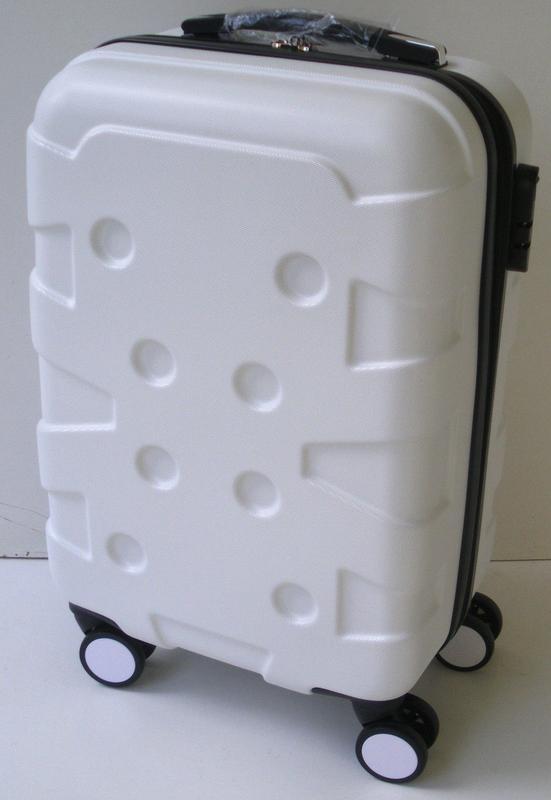 bf0ec0f10e01 Чемодан дорожный на колесах, пластиковый, 80 см, молочно белый1 фото ...