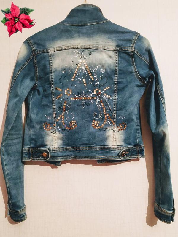 0234a20d2417 Укороченная джинсовая куртка  джинсовый пиджак Missouri, цена - 60 ...