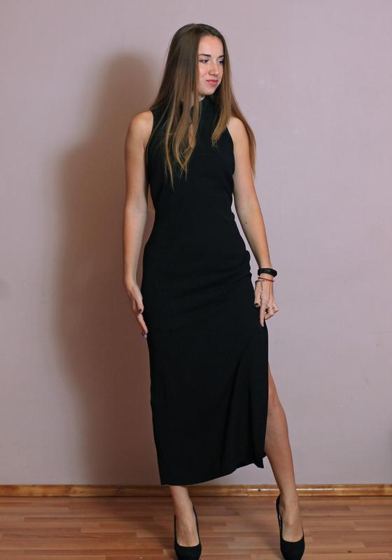 4a1eb627b41 Вечернее платье футляр с разрезом . латвия.1 ...