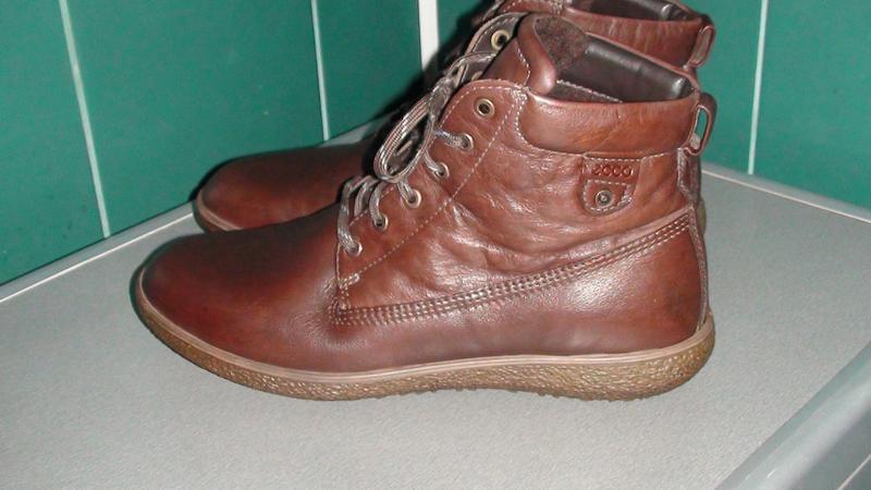 Ecco - шкіряні черевики. р- 42 (28см) Ecco 6c7d34b91faa9
