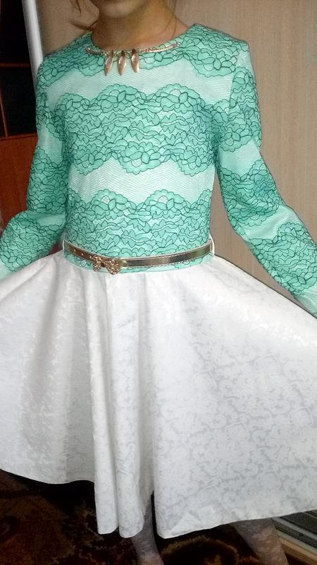 Нарядное платье на торжество рост 140-146 Турция 8d706bfd37b56