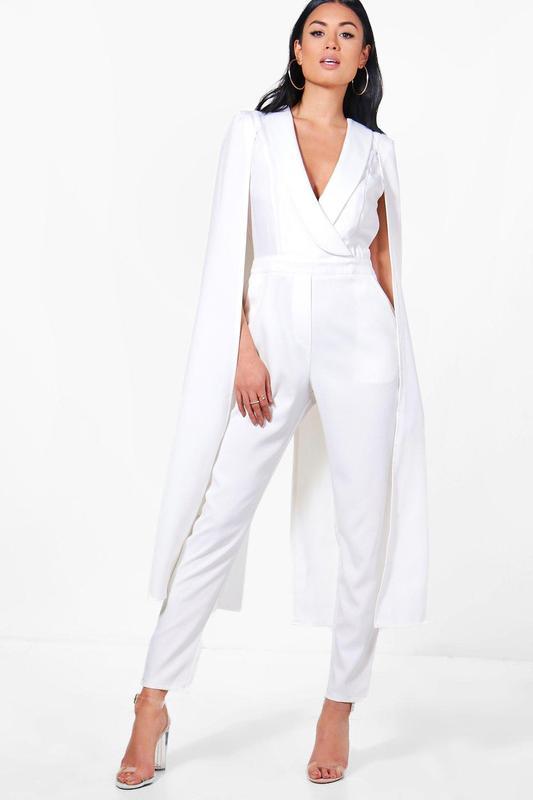 0672e138201 Распродажа 🔥 крутой белый костюмный комбинезон размера s от asos1 фото ...