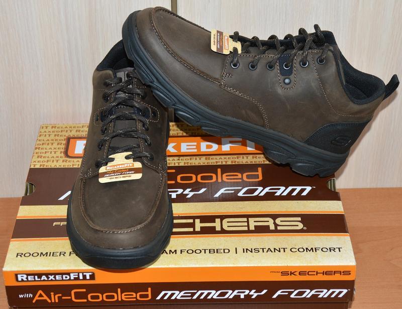Ботинки skechers® resment waler-original из usa-relaxed fit 65585 chok1 ... a1b006d630715