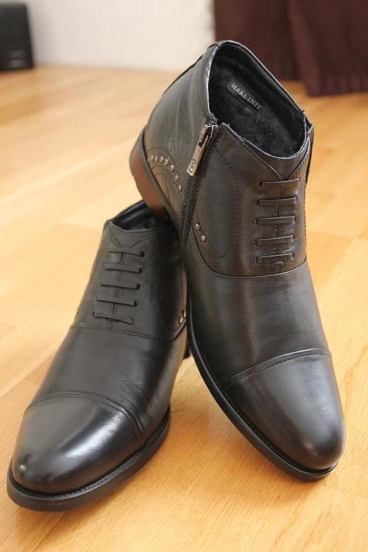 36553eebb Зимние мужские ботинки! мех, кожа .классика. размеры:40,41, 43 фирма ...