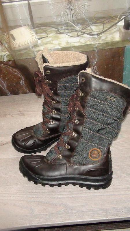 Timberland - шкіряні зимові черевики-чоботи. р- 39 (25см) Timberland ... 6c0f063da7c7a