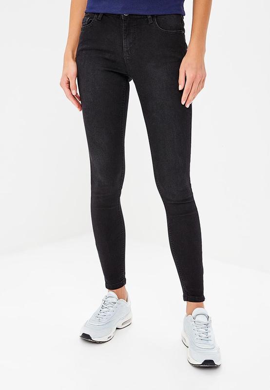 1837181458a Крутые черные джинсы скинни stradivarius