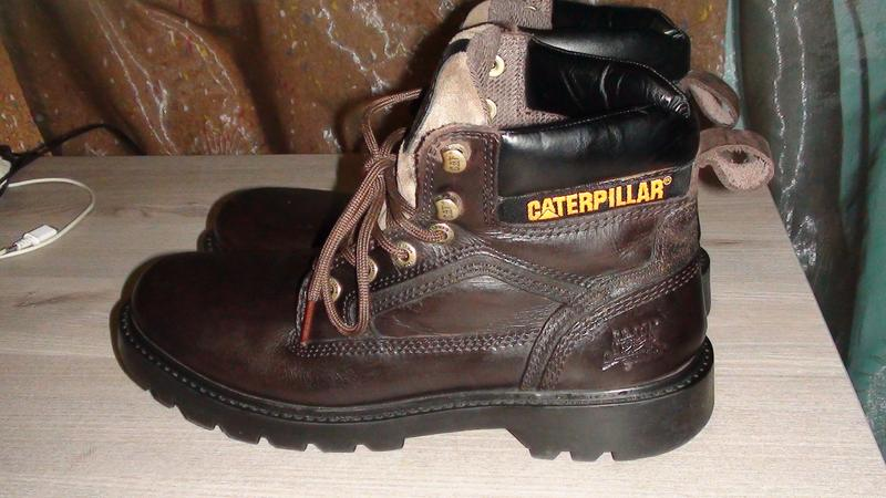 Caterpillar - шкіряні черевики. р- 43 (28.5см) Caterpillar 5fb63ca39198b
