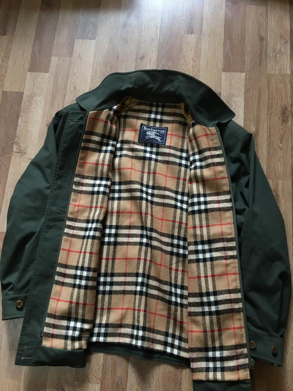 100% оригинал burberry харик барбери харингтон курточка burberry s за 1300  грн.   Шафа 7e12f5ae162