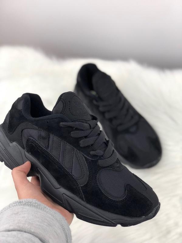 Акция!!! мужские кроссовки adidas yung 1 full black Adidas 9faea37015225