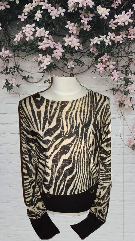 04e8839d5d6 🌹🌹нарядная красивая блузка блузон кофточка в принт рукав летучая  мышь🌹🌹🌹1 ...