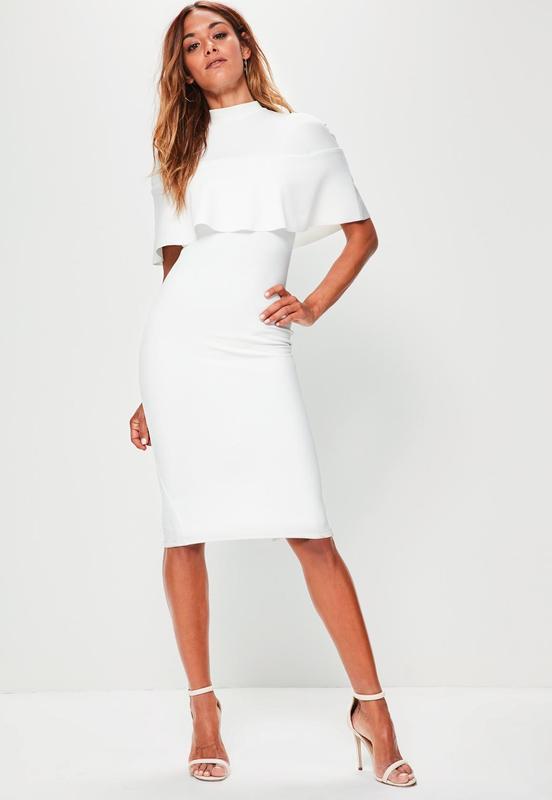 f125244f36a Роскошное платье миди с воланом missguided ms291-8 Missguided