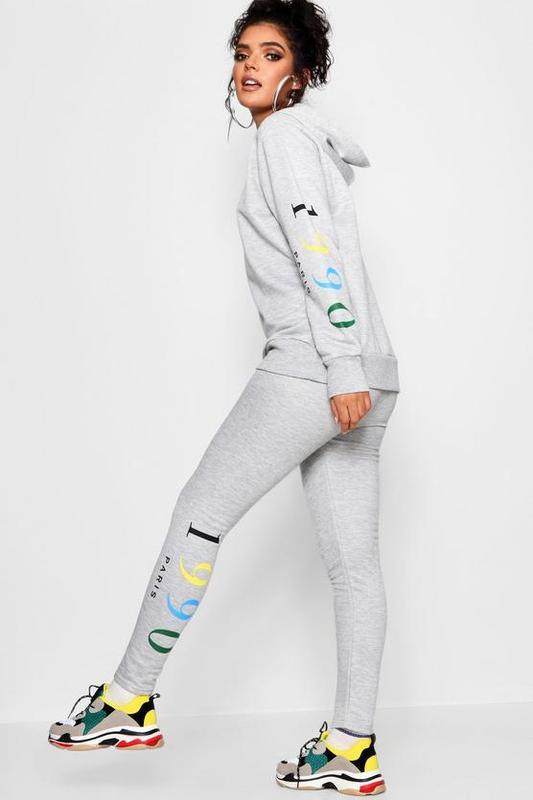 Boohoo, новые, стильные спортивные брюки emme rainbow , размер 48.1 ... 540239a73c1