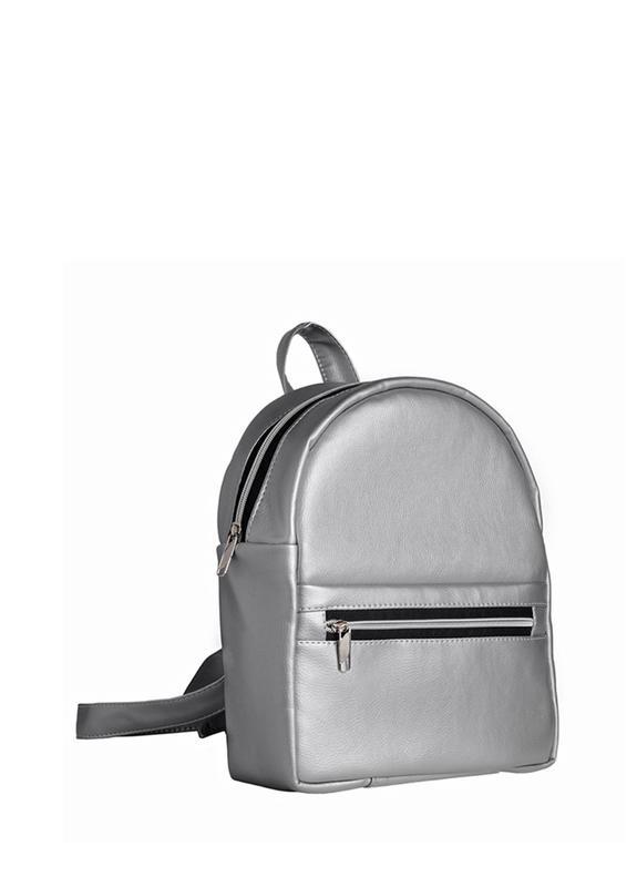 4bac1815b32 Стильный женский рюкзак серебренный для учебы прогулок1 фото ...